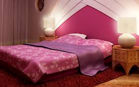 cute pink bedroom ideas with pink bed and quilt beside small and