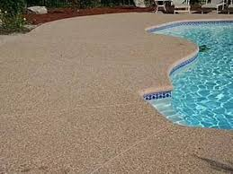 exposed aggregate around pools google search backyard