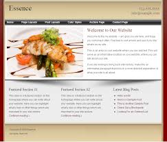 restaurant web design top level web design