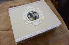 Couverture Album Photo Scrapbooking L U0027album Des Noces D U0027or De Mes Parents Babioles Et Absolu