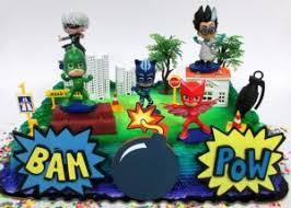 pj masks birthday cake decorations ideas birthday buzzin