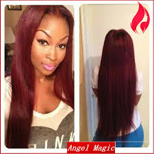 2015 grade 7a red ombre long full lace wig brazilian human