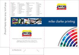 Short Run Business Cards Stationery U0026 Folders Mike Clarke Printing