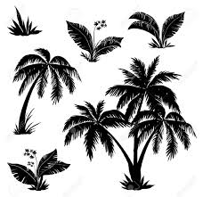 palm tree svg palm tree silhouettes glow in the dark pinterest palm tree