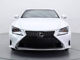 lexus dealership in palm beach fl used 2015 lexus rc 350 awd f pkg coupe for sale in west palm fl