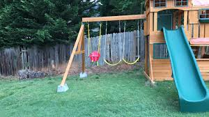 advice needed how to extend the legs of my swing set diy