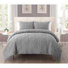 Home Classics Reversible Down Alternative Comforter Vcny Artemis 3 Piece Embossed Reversible Down Alternative