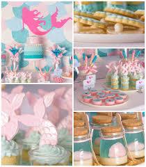 mermaid themed baby shower mermaid kara s party ideas