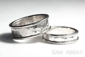 hammered wedding band hammered bands new york wedding ring