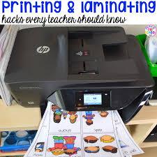 printing and laminating hacks every teacher needs to know pocket