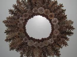 pine cone wreath pine cone wreath summer c at home