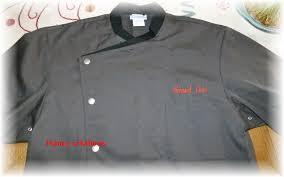 broderie veste de cuisine veste de cuisinier nancy créations