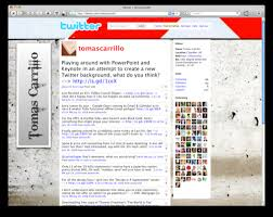 create a twitter background using powerpoint the closet entrepreneur