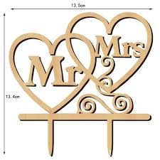 wood cake toppers mrs and mr wood cake toppers wedding cake
