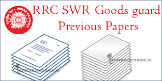 exam pattern of goods guard rrc swr goods guard previous papers rrc swr group d old papers