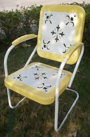 Retro Glider Sofa by 168 Best Metal Chairs Images On Pinterest Lawn Furniture Metal