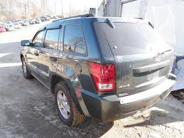 wrecked black jeep grand cherokee 2005 jeep grand cherokee laredo quality used oem replacement parts