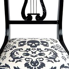 Black And White Striped Upholstery Fabric Skull Upholstery Archives Concepts And Colorways
