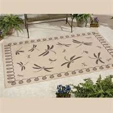 Dragonfly Indoor Outdoor Rug Favorite Theme Rugs Touch Of Class