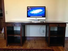 Proper Computer Desk Setup Ergonomic Desk Setup Two Monitors Multiple Monitor Productivity