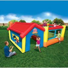 Backyard Bounce Banzai Inflatable Bouncers Ebay