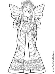 fairy bw coloring 7600 bestofcoloring
