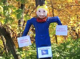spirit halloween danbury ct wilton scarecrow contest barbara corcoran halloween