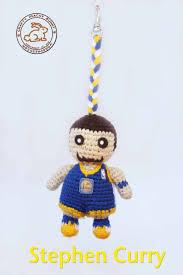 Crochet Halloween Garland Steph Curry Nba Basketball Playoffs Crochet Dolls And Amigurumi