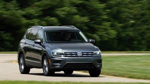 volkswagen suv white 2018 volkswagen tiguan first drive review consumer reports