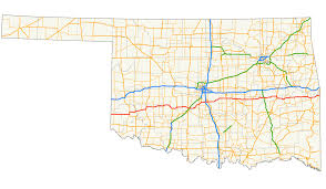 Oklahoma Map With Cities Oklahoma State Highway 9 Wikipedia
