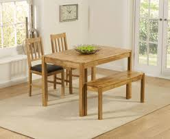 Oak Dining Table Bench Oxford 120cm Solid Oak Dining Table With Benches And Oxford Chairs