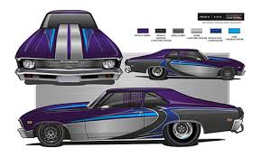 paint schemes power race graphics