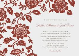 Meeting Invitation Card Elegant Red Wedding Invitation Templates Ipunya