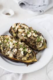 stuffed eggplant the luminous kitchen