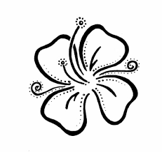 easy tattoo designs flower tattoo by donniekompany hawaiian