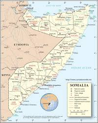 Djibouti Map Map Somalia Country Map Somalia