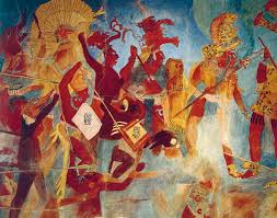 discovery of the mural paintings of bonampak