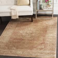 7 X 11 Area Rugs Safavieh Vintage Oriental Taupe Distressed Silky Viscose Rug 6 U00277