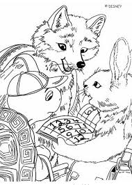 fox franklin rabbit coloring pages hellokids
