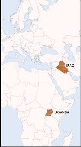 Map Of Uganda Africa by East Africa U2014 Tutapona