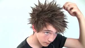 spiky anime hairstyles asian spiky hairstyles how to make asian anime manga mens hair with
