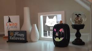halloween home decor fall and halloween home decor tour lemax spooky town village