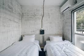 concrete interior design rc hotel kyoto yasaka concrete interior haarkon lifestyle and