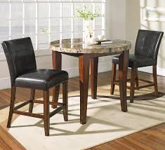 Kanes Dining Room Sets Steve Silver Montibello 3 Piece Counter Height Round Table And