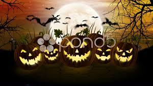 halloween video background loop haunted house halloween pumpkin background animation hi res 39933616