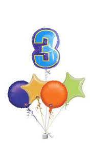 number balloons delivered number 3 balloons age balloon delivery balloons delivered