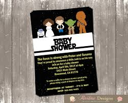 wars baby shower ideas wars baby shower invitations lilbibby