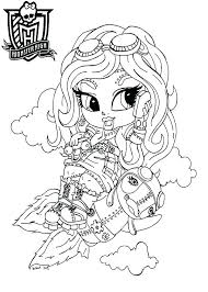 Monster High Coloriages Monster High Monster High Coloring Pages