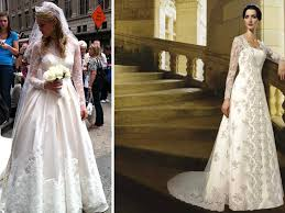 royal wedding dresses kate middleton royal wedding gown knockoffs by mori and oleg