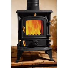 astove 5 5 kw cast iron burning stove log multifuel wood coal high